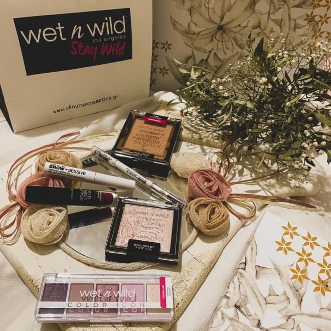 wet n wild giveaway by @evanggelia_per
